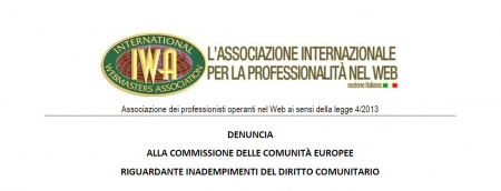 IWA denuncia all'UE la Web Tax